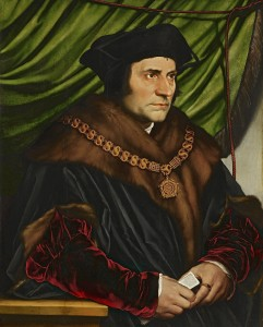 Sir Thomas More, patron saint of lawyers.